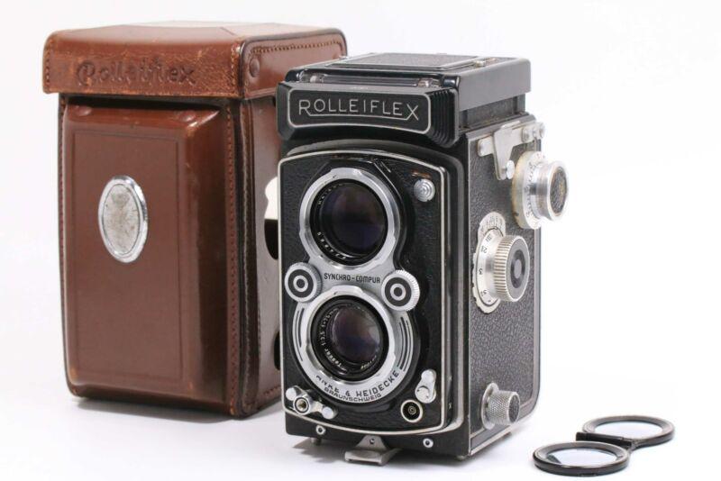 [EXCELLENT] Rollei Rolleiflex 3.5A  Model V AUTOMAT MX  Tessar 75mm f/3.5 (5224)