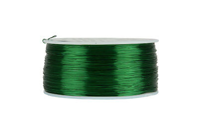 Temco Magnet Wire 28 Awg Gauge Enameled Copper 155c 1lb 1988ft Coil Green