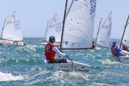 Optimist Sailing Dinghy - 809