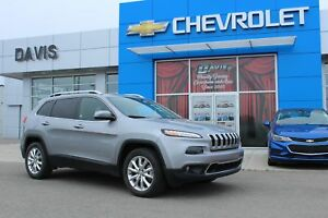 2015 Jeep Cherokee Limited PUSH BUTTON START, HEATED LEATHER