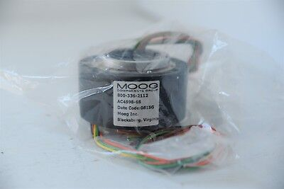 Moog Ac4598-6s Thru Hole Slip Ring Assembly Moog Components Group New Never Used