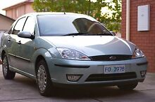 2003 Ford Focus Sedan Taylors Lakes Brimbank Area Preview