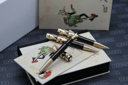 Montblanc Carlo Collodi Writers Limited Edition Set - FP, MP, BP - UNUSED
