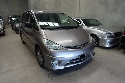 2004 TOYOTA TARAGO CRUISE CONTROL 8 SEATERS AUTO REVERSE CAMERA Wingfield Port Adelaide Area Preview