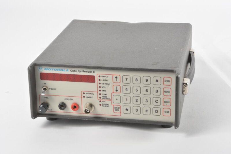 Motorola R1150D Code Synthesizer II