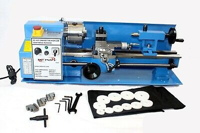 7x14 550w Mini Precision Metal Lathe 2500rpm Variable Speed Digital Read Out