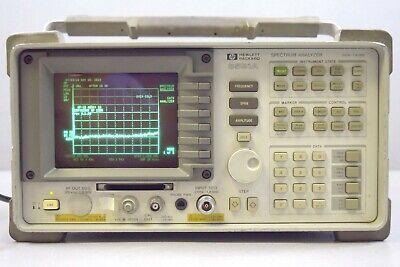 Hewlett Packard 8591a Spectrum Analyzer 9khz-1.8 Ghz W Power Cord