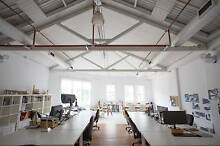 Desk space shared office in creative Chippendale warehouse Chippendale Inner Sydney Preview