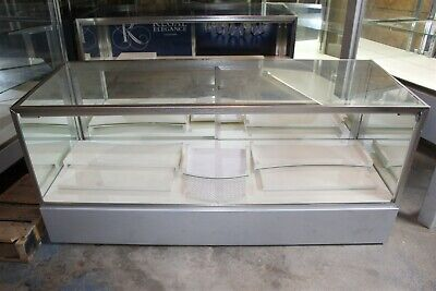 27.75 X 22 X 72 Jewelry Showcase Retail Display Case - Led Lighting