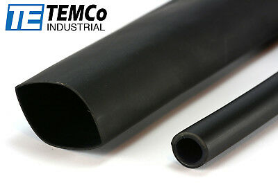 """Red//Black Heat Shrink Tube Wire Cable Wrap 5Feet//Each 3:1 Flame Retardant 3//8/"""""""