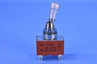 Nkk Mil-spec Dpst 20a 125vac 30vdc Pull-to-unlock Locking Toggle Switch S21al
