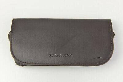 Giorgio Armani Sunglasses/Eyeglasses - Brown - Protective Large Case (Giorgio Armani Sunglasses Case)