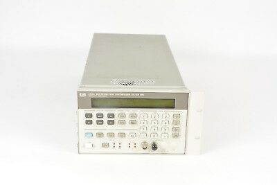 Hp 8904a Multifunction Synthesizer Waveform Generator Dc-600khz -has Dents