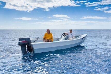 Greenough 4.5 offshore fishing boat