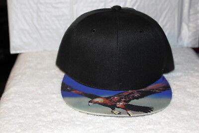 Eagle Flat (EAGLE FLYING OUTDOOR FLAT BILL SNAPBACK BASEBALL CAP)