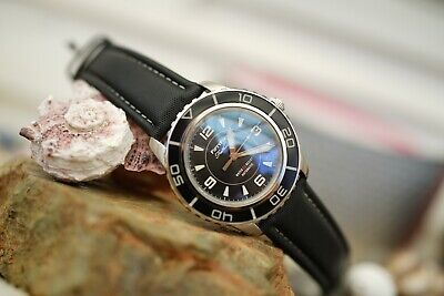 "Müller&Son Watch ""Black Mod 1"" made from Seiko SNZH55 Fifty Five Fathoms + Strap"