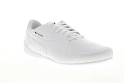 Puma BMW M Motorsport Drift Cat 7S Ultra Mens White Low Top Racing Shoes