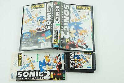 Sonic The Hedgehog 2 Genesis Sega Megadrive Box From Japan