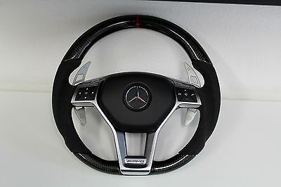 1x Mercedes AMG Performance Style Sportlenkrad CLA45 A45 C63 GLA45 E63 SLK55 gebraucht kaufen  München