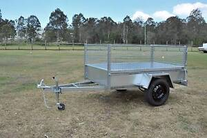 7x4 Caged Box Trailer  - Made of Gal Beenleigh Logan Area Preview