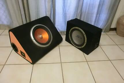2 x Sub woofers Wagaman Darwin City Preview