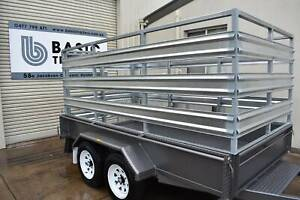 10x5 Stock Crate Trailer (Australian Made) Holden Hill Tea Tree Gully Area Preview