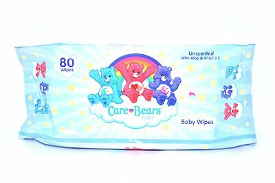 Care Bears Unscented Baby Wipes, 80 ct. 80 Ct Baby Wipes