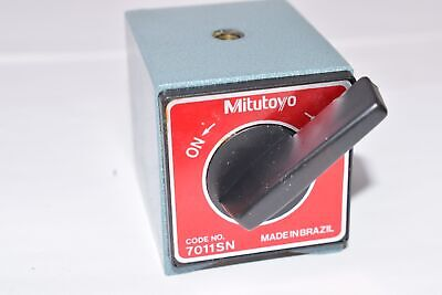 Mitutoyo Code No. 7011sn Magnetic Base - Base Only
