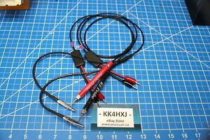 Custom RF & Audio Probe Set for Eico 145 Signal Tracer - assembled & tested