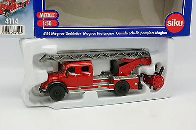 Siku 1/50 Magirus Grand Echelle de Pompiers