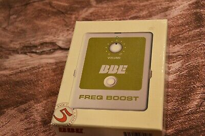 BBE Freq Boost Vintage Treble Boost Guitar and Bass Pedal -