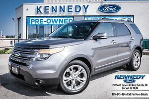 2013 Ford Explorer LimitedLeather Navi 7Pass Sunroof