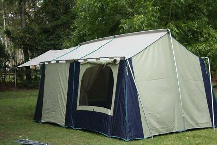 STOCKMAN WEEKENDER WIMMERA 8 PERSON TENT USED ONCE EXCELLENT COND & x3m 3m in Queensland | Gumtree Australia Free Local Classifieds
