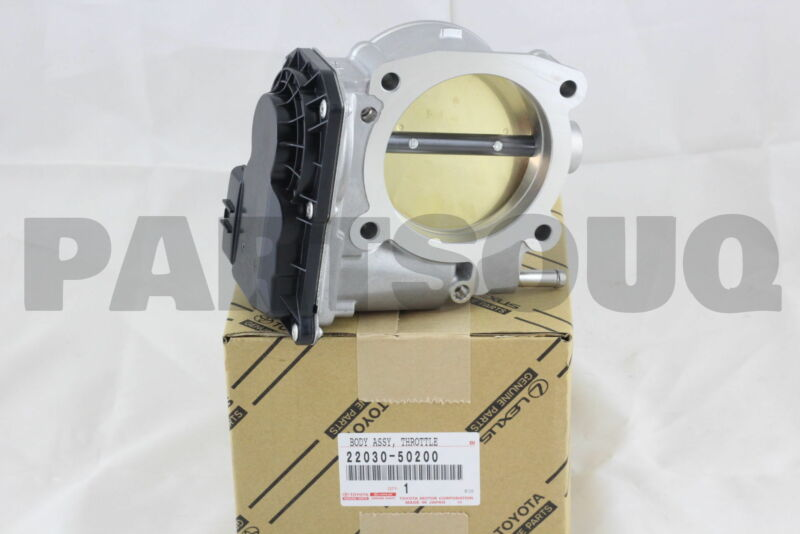 2203050200 Genuine Toyota Body Assy, Throttle W/motor 22030-50200