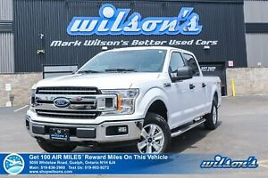 2018 Ford F-150 XLT Crew Cab 4x4 5.0L V8, Tow Package, Power Sea
