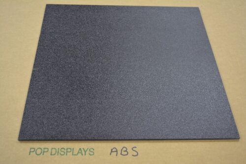 "Abs Plastic Black Sheet  1/4"" x 12"" x 8""  Vacuum Forming"