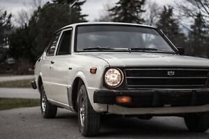 Looking for 1975 -1979 Toyota Corolla parts