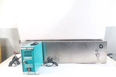 Crest 4g-500-6-t Genesis Ultrasonic Generator W Crest 4ht-741-6 Tank