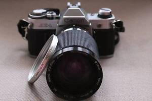 Canon AE1 film body, 28-210mm superzoom & 2x t/c,all working well Sydney City Inner Sydney Preview