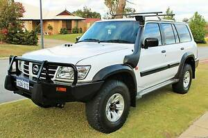 2003 Nissan Patrol ST GU III Turbo Diesel Auto 3.0L 4x4 7 seater Baldivis Rockingham Area Preview