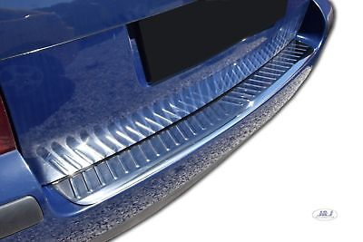 Brushed for MERCEDES C CLASS S204 W204 Estate 2006-2013 Stainless Steel CHROME Rear Bumper Protector Sill Guard Cover