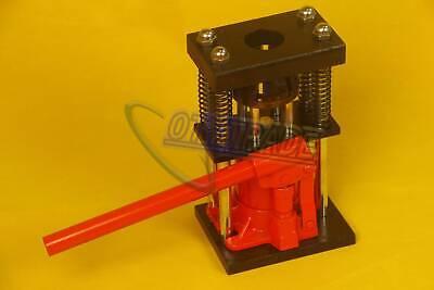 6 Tons Manual Hydraulic Hose Crimper Benchtop Bottle Jack Press Us