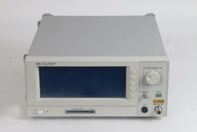 JRC Japan Radio Co NJZ-1800BJ CDMA/AMPS Mobile Station Tester Option 002 004 010