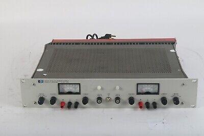 Hp Agilent Keysight 6253a Dual Dc Power Supply 0-20v0-3a