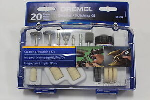 NEW 684-01Dremel Cleaning And Polishing Moto Tool Kit 20 Pc   NEW