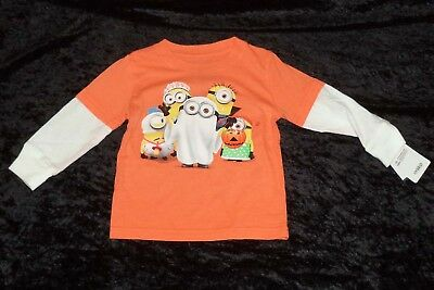 Halloween Trick or Treat Minions Infant/Toddler T-Shirt (AVAILABLE 12 Mo - 2T)](Halloween Minions)