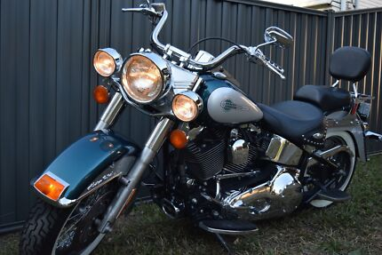 HARLEY FLSTC/I Heritage Softail Classic Motorcycle. Only 13800ks Chermside Brisbane North East Preview