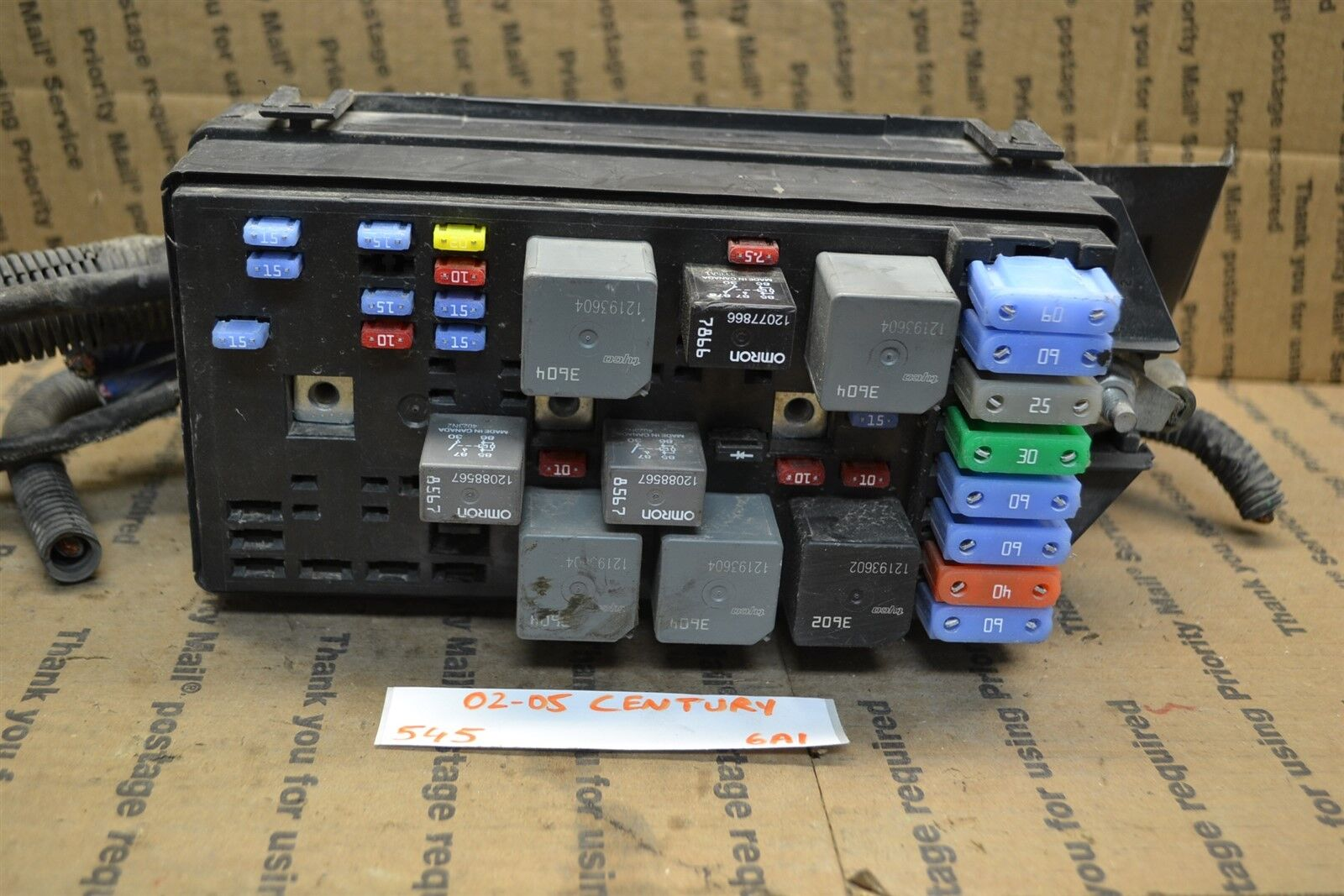 Used Buick Computers Chips Cruise Control And Related Parts For 1994 Skylark Fuse Box 2002 2005 Century Junction Oem 10332972 Module 545 6a1