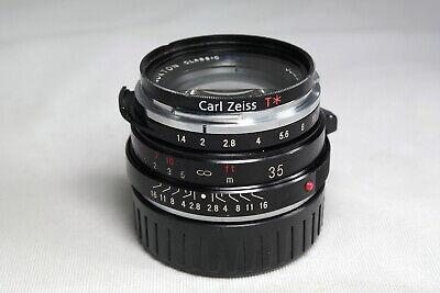 Voigtlander Nokton 35mm f/1.4 MF Lens SC VM Leica M mount