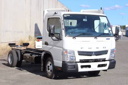 Fuso Canter 515 Wide MWB AMT Cab chassis (FEJ30616)